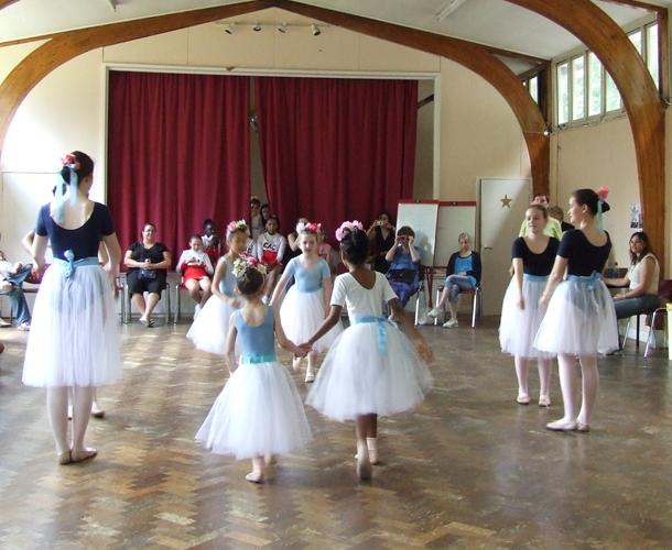 St Pauls Church - ballet class
