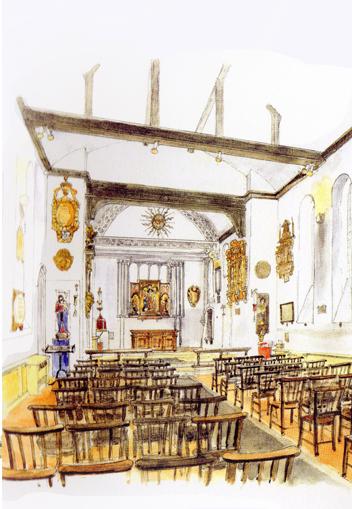 illustration St Pancras Old Church